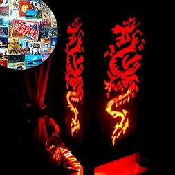 Rising Fire Red Dragon Table Lamp Lighting Shades Floor Desk