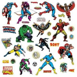 Roommates Rmk2328Scs Marvel Character Peel And Stick Wall De