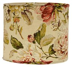 AHS Lighting SD1476-16PD Large Rose Floral Drum Lamp Shade w