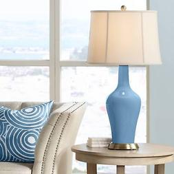 Secure Blue Anya Table Lamp