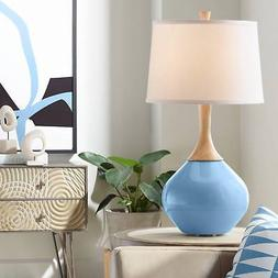 Secure Blue Wexler Table Lamp