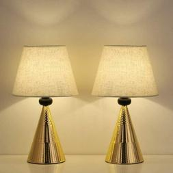 Set of 2 Vintage Table Lamps Bedside Nightstand Lamp Bedroom