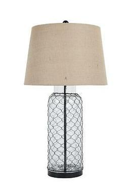 Sharmayne Transparent Glass Table Lamp L430114 Sharmayne Tra