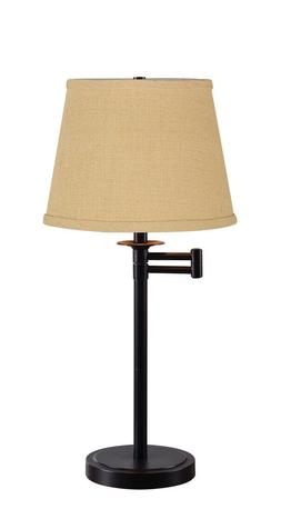 Kenroy Home Sheppard Swing Arm Table Lamp