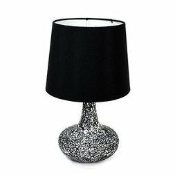 Simple Designs Mosaic Genie 14.17 H Table Lamp with Empire S