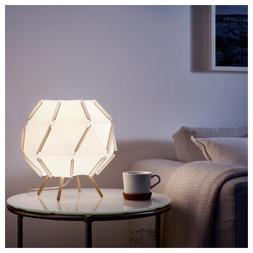 "Ikea SJÖPENNA SJOPENNA Table Lamp Modern White 12"" x 11"" -"