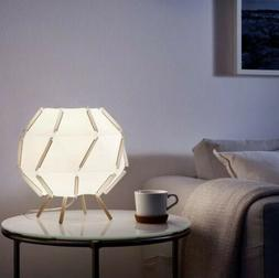 "Ikea SJOPENNA Unique Table Lamp White 11"" NEW"