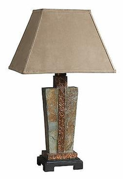 Uttermost 26322-1 Slate Accent Lamp