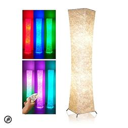 """Soft Light Floor Lamp with Remote Control, Yenny shop 52""""RGB"""