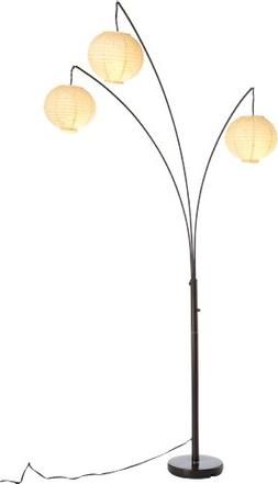 Adesso 4101-26 Spheres Arc 3-Light Floor Lamp - Standing Lam
