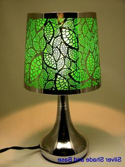 Stainless Steel Table Touch Lamp, Leaf 12.6""