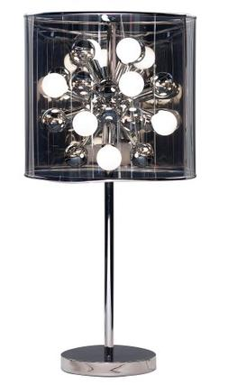 """Adesso 3260-22 Starburst 28.5"""" Table Lamp, Steel, Smart Outl"""