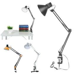Swing Arm Desk lamp Architect Drafting Table Clamp On LED Li