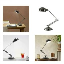 HAITRAL Swing Arm Desk Lamp Flexible Industrial Table Lamps