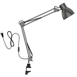 ToJane Swing Arm Desk Lamp,Architect Table Clamp Mounted Lig
