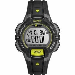 Timex Women's T5K809 Ironman Rugged 30 Mid-Size Black/Lime R