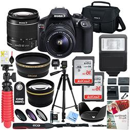 Canon T6 EOS Rebel DSLR Camera with EF-S 18-55mm f/3.5-5.6 I