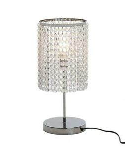 Table Chandelier Faux Crystal Bedside Accent Lamp Lighting B