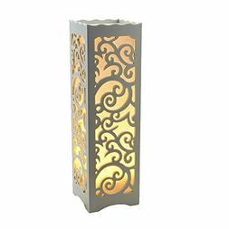 Table lamps Night lights White lampshade table lamp for bedr
