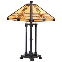 Tiffany Style Table Lamp Home Office Décor Mission Design D