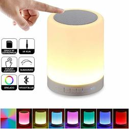 Table Lamp Touch Sensor Bedside Warm White Light Color Chang