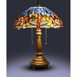 Table Lamps Living Room Bedroom Stained Glass Tiffany Light