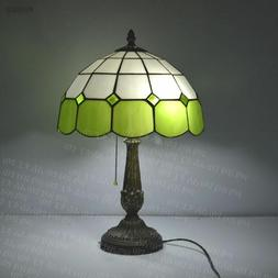 Tiffany Table Lamp Mediterranean Sea 12 Inch Stained Glass B