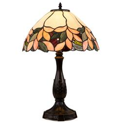 Tiffany Style Table Lamp Victorian Stained Glass Desk Lamp F