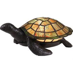 Tiffany Turtle 1 Light Table Lamp - Turtle Tiffany Table Lam