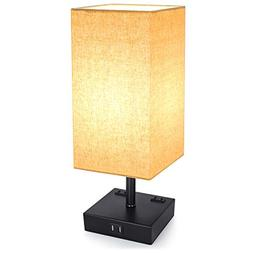 Touch Control Dimmable Table Lamp-Bedside Desk Lamp-Modern N