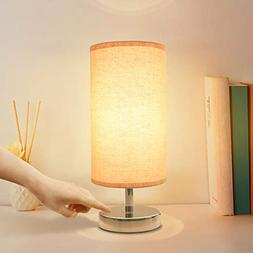 Touch Control Lamp, Aooshine Minimalist Bedside Table & Desk