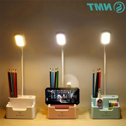 Touch Dimmable LED Desk <font><b>Lamp</b></font> USB Recharg