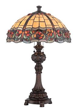Traditional Table Lamp in Dark Bronze