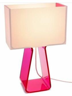 """Tube Top Classic Table Lamp Pablo Designs 14""""  White Shade /"""