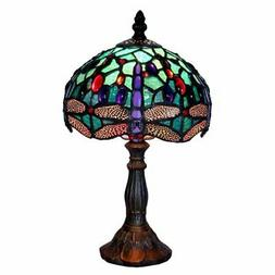 Warehouse of Tiffany Turquoise Dragonfly Table Lamp