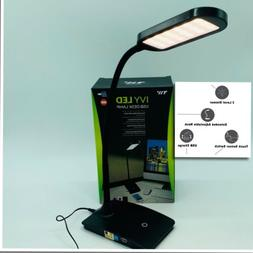 TW LED Lighting Office Computer Table Desk Lamp USB Charging