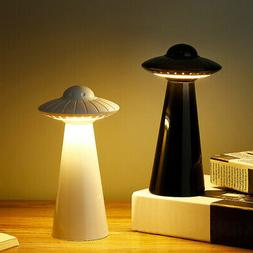 UFO Design Rechargeable LED Table Lamp Stepless Dimming Nigh