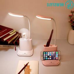 USB Rechargeable LED <font><b>Desk</b></font> <font><b>Lamp<