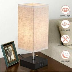 usb table desk lamp acaxin bedside lamp