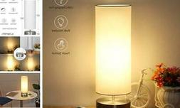 USB Table Lamp,  Touch Control Bedside Nightstand Lamp Quick