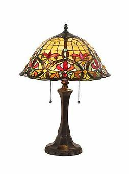 Victorian Bertram 21.7 H Table Lamp with Bowl Shade