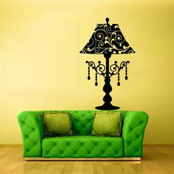 Wall Decal Vinyl Sticker Decals Table Lamp Interior Decal Mo