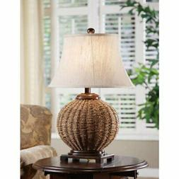 Crestview Collection Wicker Table Lamp