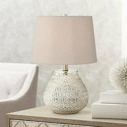 zax mercury glass table lamp